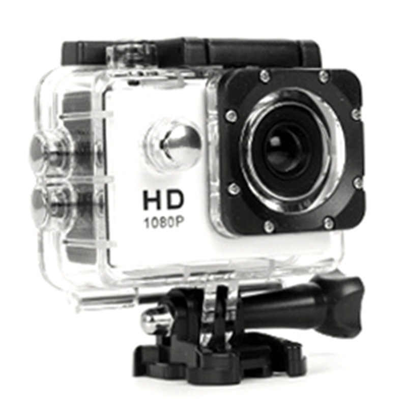480P Sepeda Motor Olahraga Lari Action Video Camera MOTOR DVR Full HD 30M Tahan Air