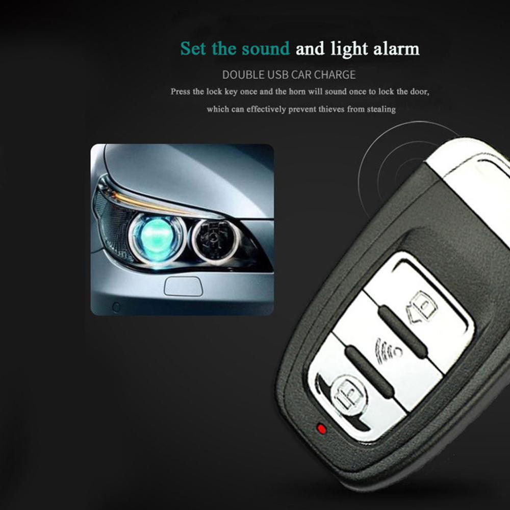 9 pièces/ensemble Auto démarrage à distance système d'alarme de voiture moteur Starline bouton poussoir démarrage arrêt SUV système d'entrée sans clé immobilisateurs de voiture - 5