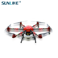 S612 agricultural drone 6 axis uav spraying pesticide agricultural drone PGS positioning China agriculture drone spray system