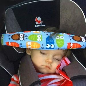 1pc Baby Car Seat Head Support Children Belt Fastening Belt Adjustable Boy Girl Playpens Sleep Positioner Baby Saftey Pillows