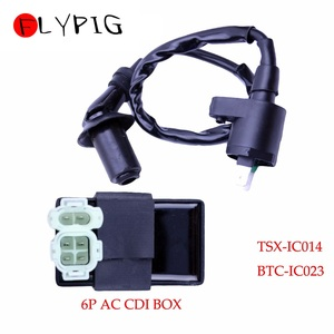 Image 1 - Ignition Coil 6Pin AC CDI Box for Honda XR CRF TRX 50 70 125 250 300cc Engine Motorcycle Dirt Bike ATV Moped Scooter Go Kart @20