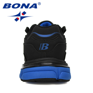 Image 2 - BONA New Popular Action Leather Running Shoes MenTrainers Sport Shoes Man Zapatillas Hombre Outdoor Sneakers Male Footwear
