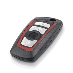 Image 2 - KEYYOU 3/4 düğmeler uzaktan anahtar Fob BMW 5 7 için F serisi FEM / BDC,CAS4,CAS4 + 2012 2017 YGOHUF5662/YGOHUF5767 315/433/868Mhz yeni