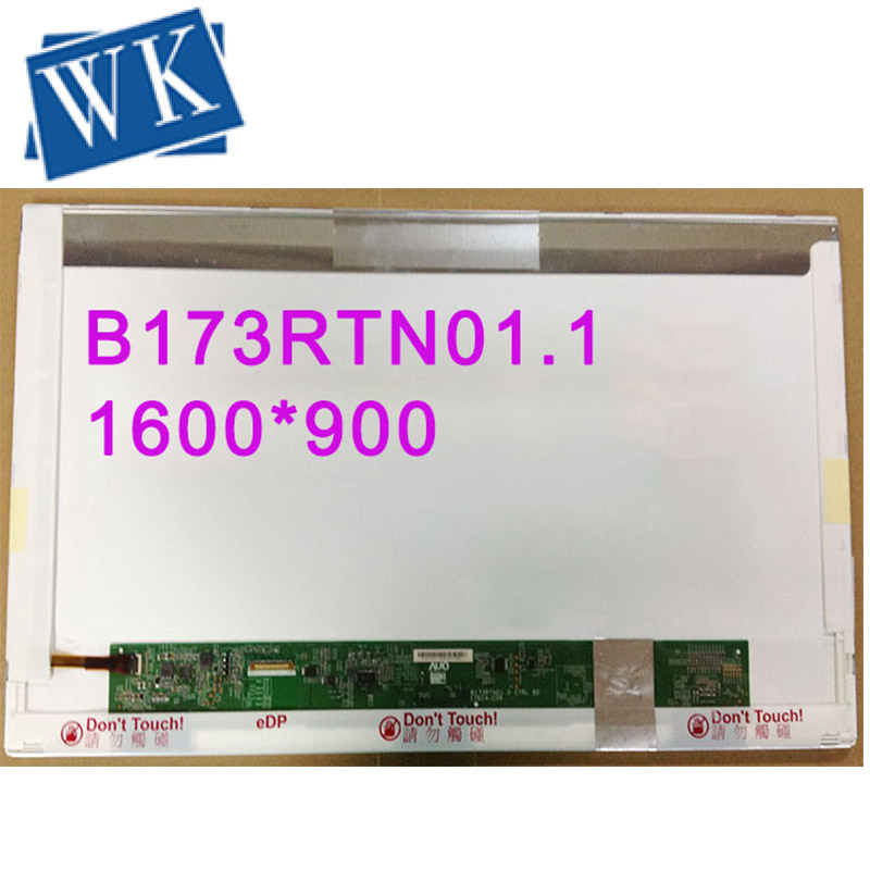 Free Shipping B173RTN01.1 B173RTN01.3 N173FGE-E23 LP173WD1-TPE1 For Acer V3-772 LCD Laptop Screen 30 Pins