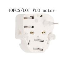 10pcs)car 15v Metal Iron White VDO Stepper Motor Shaft Speedometer Gauge Cluster motor for Volvo VW Audi Benz vo-lvo cat repair