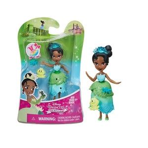 Image 5 - Disney Princess Belle Mulan Tiana  Merida Jasmine Rapunzel Ariel Pocahontas Cinderella Dolls Action Figure Model Toys for Girls