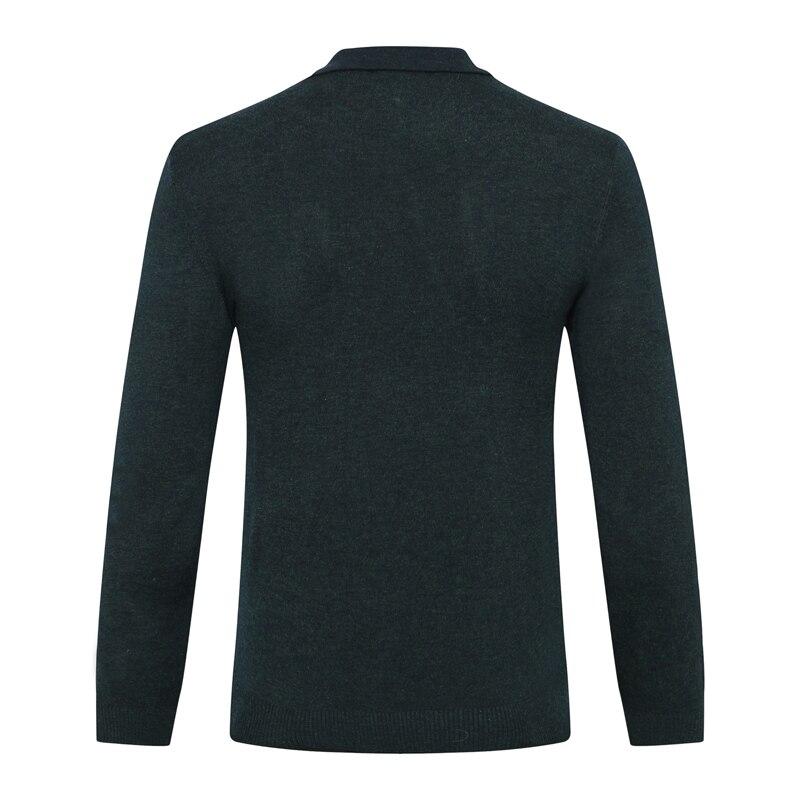 มหาเศรษฐีเสื้อกันหนาวผู้ชาย 2019 ใหม่แฟชั่นซิป comfort geometry ออกแบบคุณภาพสูงสุภาพบุรุษใหญ่ M 5XL จัดส่งฟรี-ใน เสื้อคลุมสวมศีรษะ จาก เสื้อผ้าผู้ชาย บน   3