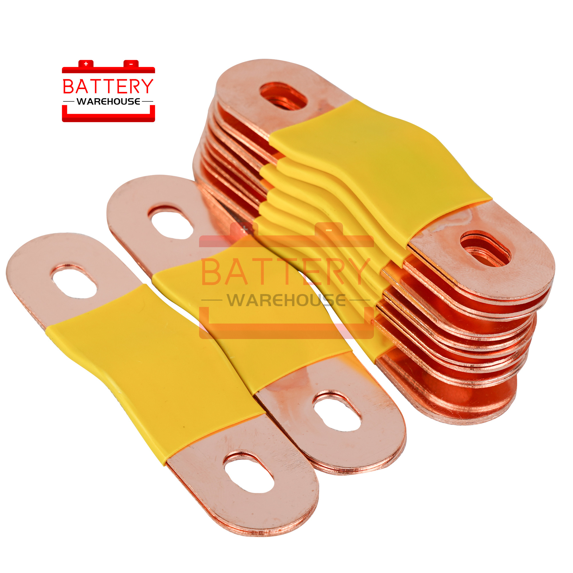 Copper Bus Bar Terminal M6 Screw For lithium lifepo4 <font><b>battery</b></font> 3.2V 3.65V 3.7V <font><b>12V</b></font> 24V 48V 96V100AH 120AH 150AH <font><b>200AH</b></font> 300AH 400AH image