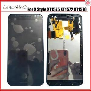 Image 1 - Dla Motorola MOTO X styl XT1575 XT1572 XT1570 wyświetlacz LCD ekran dotykowy Digitizer zgromadzenie dla MOTO X czysta wersja LCD