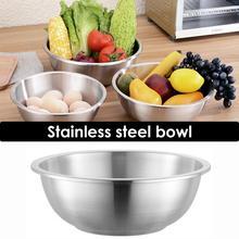 Раковина из нержавеющей стали 304, утолщенная Салатница, миска для супа, круглая Корейская кухонная миска для супа, товары для дома, кухни