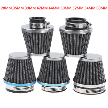 1PC Universal Motorcycle Air Filter element Auto Mushroom Head Pod Cleaner Double Foam Filter 28/35/39/42/44/48/50/52/54/60mm image
