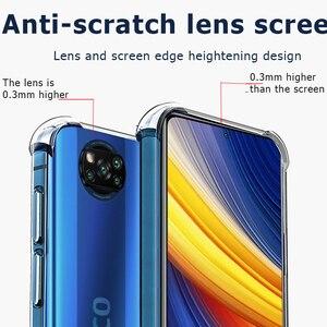 Image 2 - X3 פרו מקרה, מתכת טבעת קאפה Poco X3 פרו נגד הלם כיסוי עבור Xiaomi Pocophone F3 סיליקון X 3 M3 F3 F2 מקרה Pocco Poko Poco X3 Covers Poco X3 Pro Cover Pocophone F3 Poco F3 Case