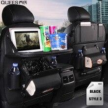 1PC PU Leather Car Seat Back Storage Hang Bag 2020 Multi-functional Mini Holder Universal Back Seat Organizer for Kids Storage