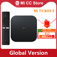 Media-Player Tv-Box Netflix HDR Android Tv Wifi Xiaomi Google Cast Global-Version Ultra-Hd