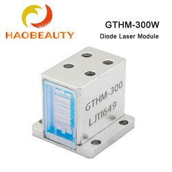 HAOBEAUTY Diode Laser Modules for Hair Removal GTHM-300 300W Side / Back / Bottom Water Out