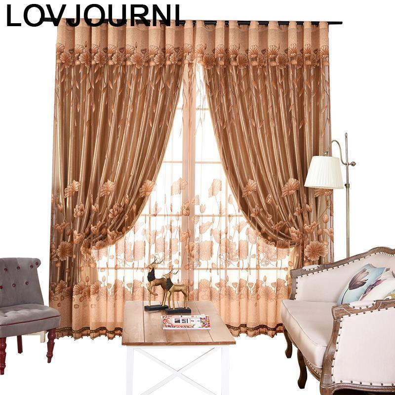 Dormitorio Modernas Voilage Fenetre Cuisine Zaslony Do Okna Luxury