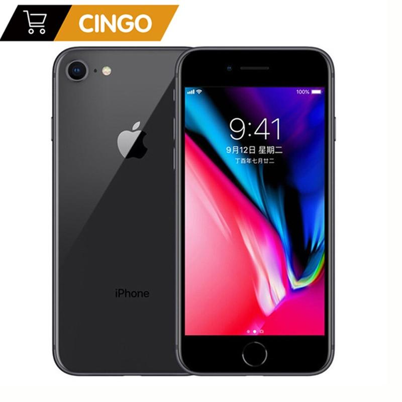 Original Apple Iphone 8 2GB RAM 64GB/256GB Hexa-core IOS 3D Touch ID 1821mAh 12.0MP Camera 4.7