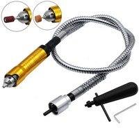 6mm Rotary Hoek Grinder Tool Flexibele As Past + 0 6.5mm Handstuk Voor Dremel Stijl Flex As elektrische Boor Rotary Tool-in Accessoires voor elektrisch gereedschap van Gereedschap op