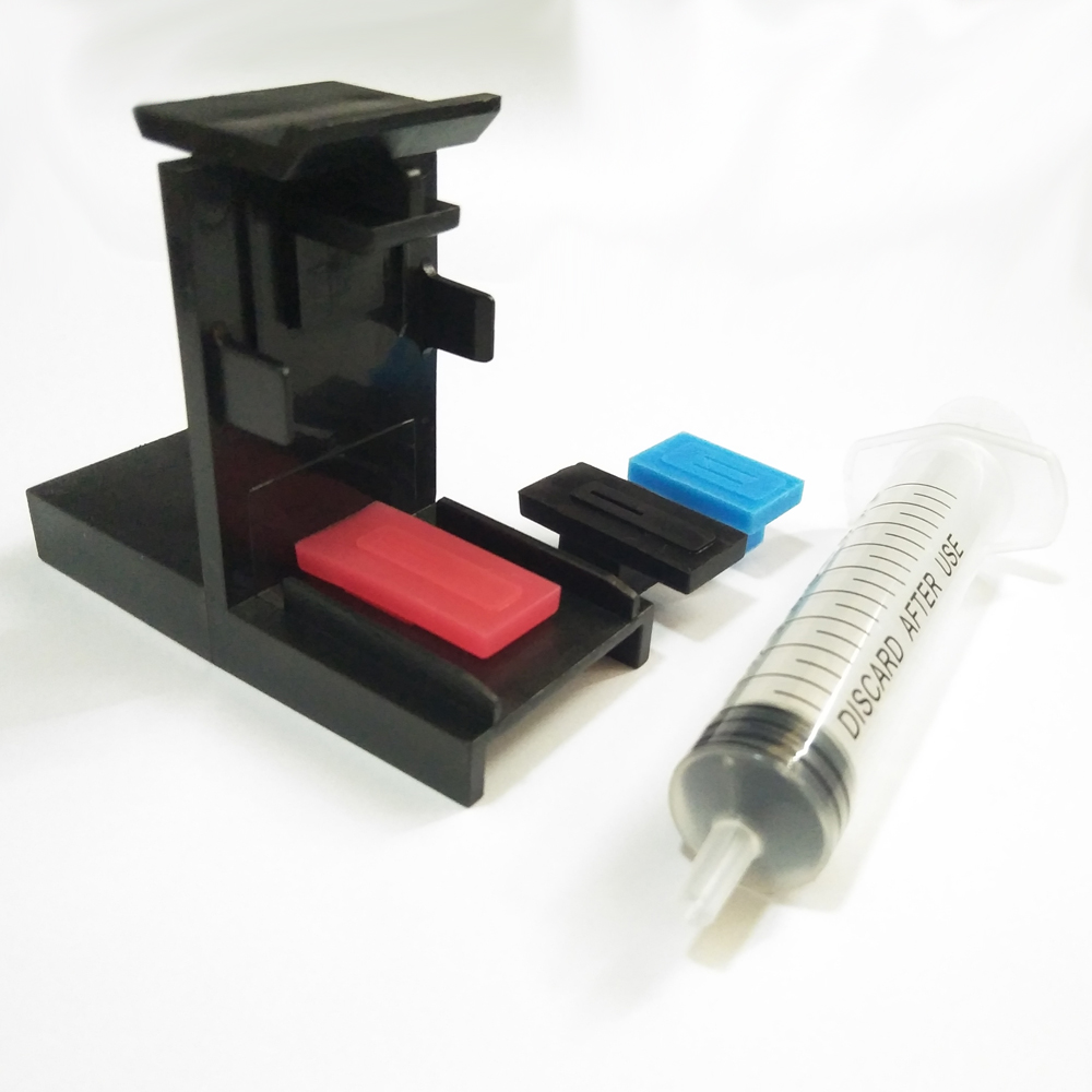 Ink Refill Tool For Canon PG 210 510 810 CL 211 511 811 Refill Clip-snap Fill- Refill Tool With 10ML Syringe Needles Kit