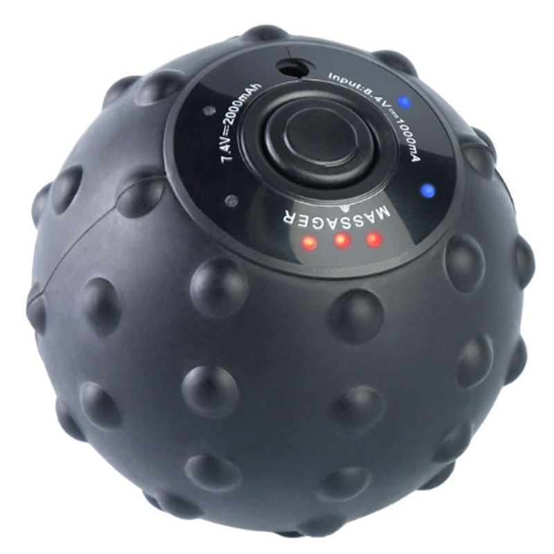 Vibrating Massage Ball Electric Massager Muscle Relaxation Massager Fitness Yoga Exercise Recovery Vibrating Handball
