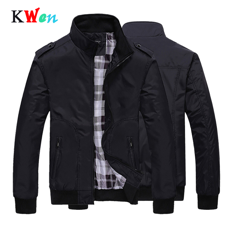 Mens Spring Winter Jackets Coat 2019 plus size Men Sportswear Motorcycle Mens Stand Collar Slim Bomber Jackets Brand Clothing in Jackets from Men 39 s Clothing