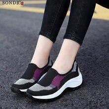 calzado mujer verano 2021 zapatos casuales zapatillas de deporte black shoes platform sneakers women femme vulcaniser chaussu