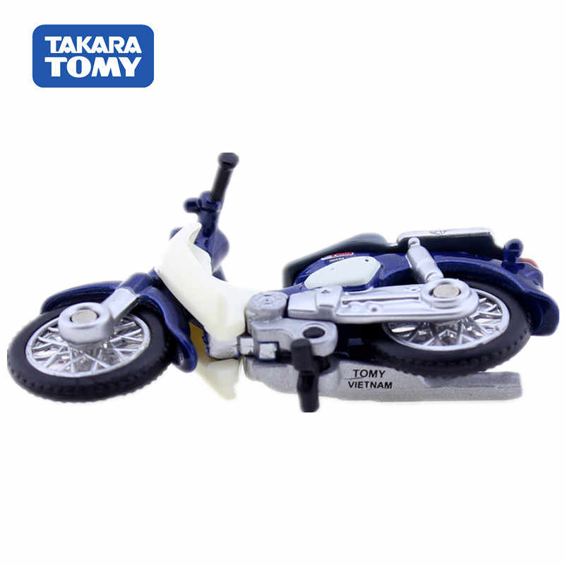 Asli TAKARA Tomy Tomica Tidak 87 Honda Super Cub Skala 1: 64 Motor Diecast Logam Mobil Mainan Mobil Model Koleksi Mainan Baru