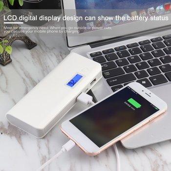 Ultra Slim LCD Digital Display Portable Dual USB Ports 50000mAh External Battery Charger Mobile Phones Power Bank Cellphones & Telecommunications
