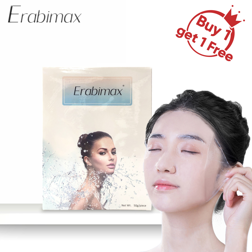 【Buy 1 Get 1 Free】Erabimax Collagen Face Mask Moisturizing  Hydrogel  Mask for the Face For Skin Care