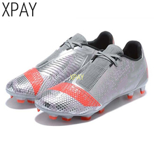 Hot Sale Mens Soccer Cleats High Ankle Football Shoes Long S
