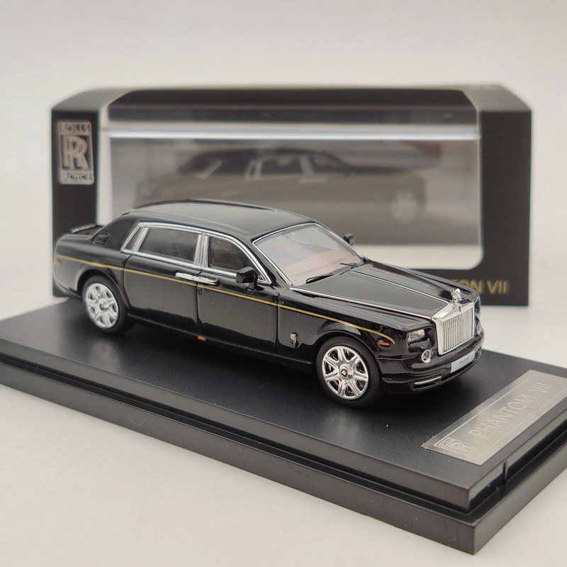Rolls-Royce Phantom VII White 1:64 Diecast Models Limited Edition Collection