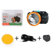 Rechargeable LED headlights outdoor camping night riding waterproof headlamp dual light source portable
