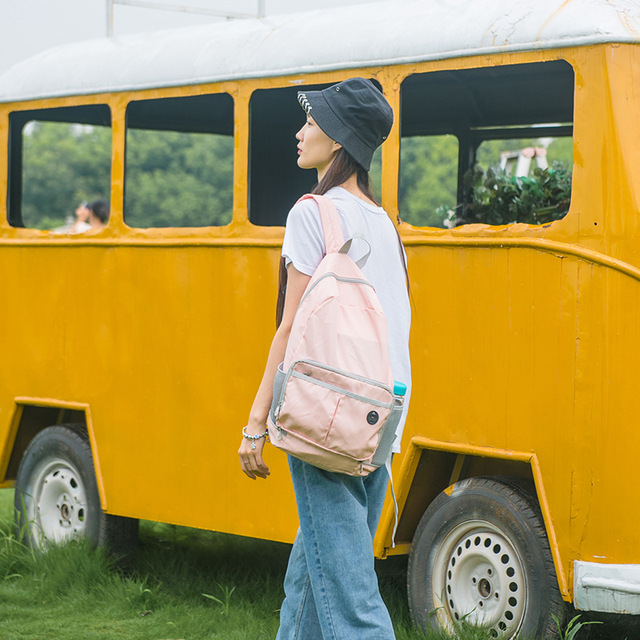 JULY'S SONG Foldable Backpack Portable Dual-use Shoulder Bag Daypack Waterproof Multifunctional Travel Bag Men Women School Bag | HOTSHOPDIRECT