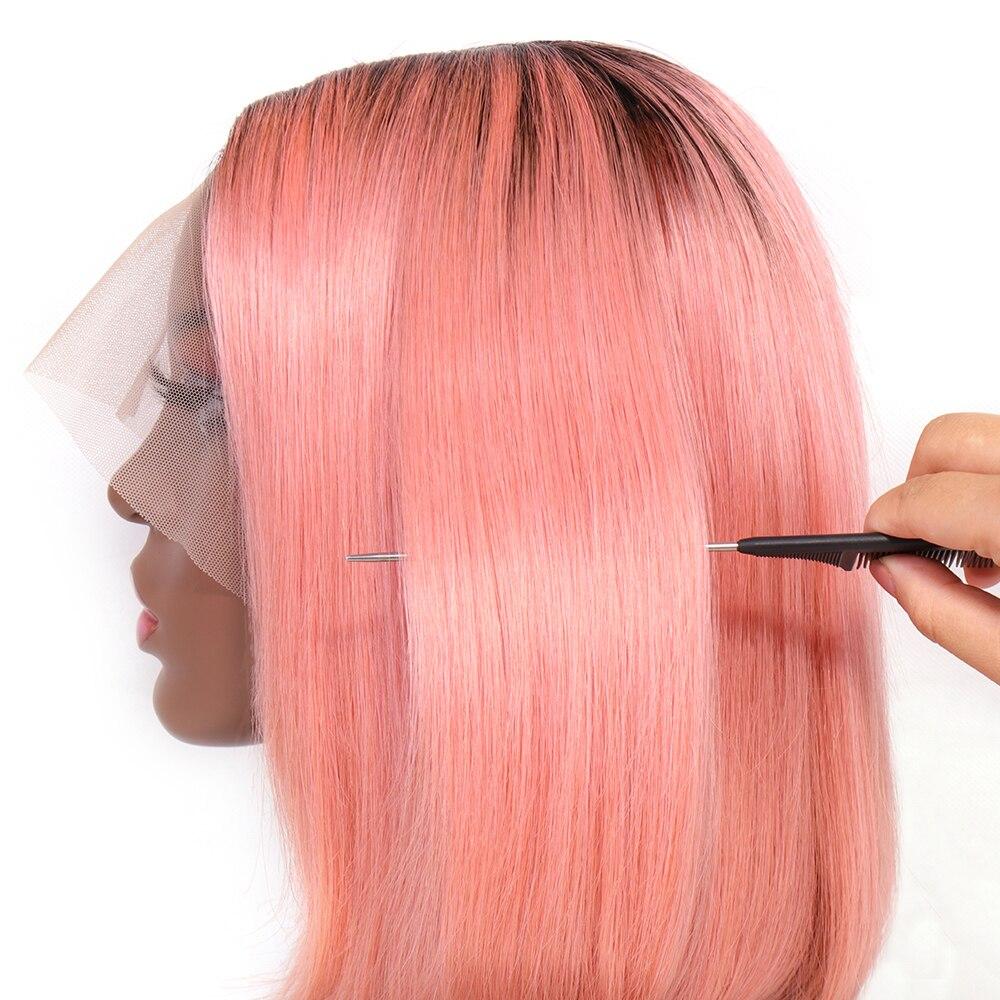 aleesa frente do laco perucas de cabelo 04