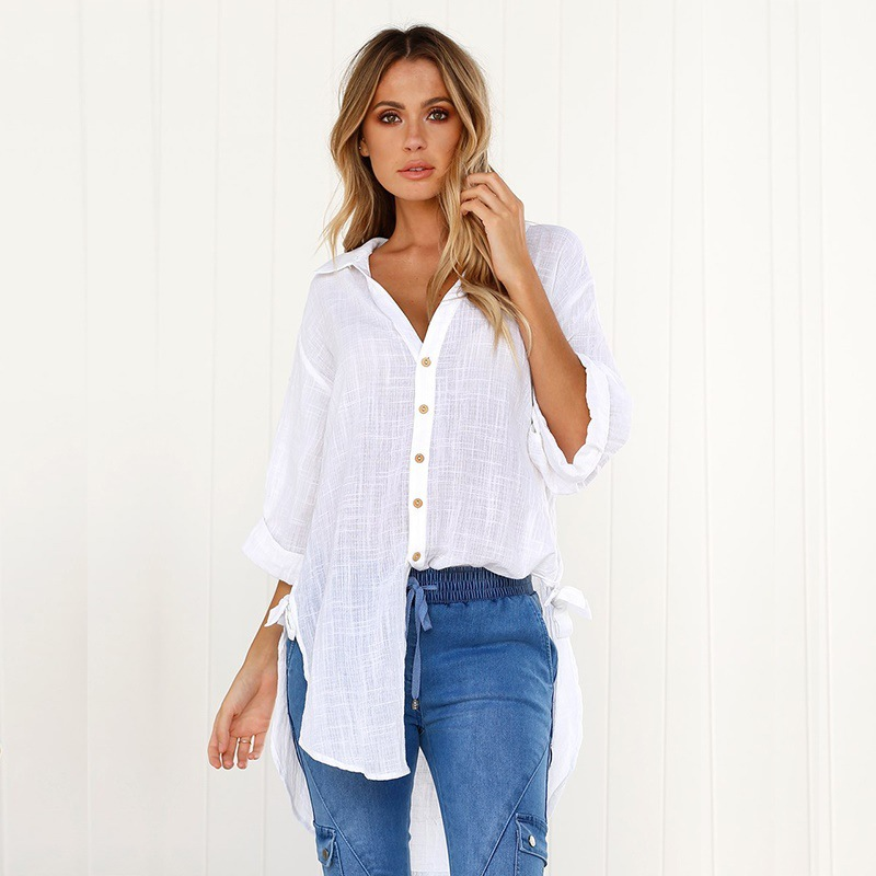 new women blouse fashion 2020 female womens top shirt autumn winter festivals classics comfort elegance ladies clothing top xxl