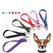 Ремни безопасности для домашних собак 1 шт регулируемый поводок