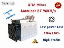 BTM Miner Antminer B7 96KH/s 528W (KEIN NETZTEIL) asic Tensority Miner Bergwerk BTM besser als Antminer S9 S11 S15 A9 Z9 A9