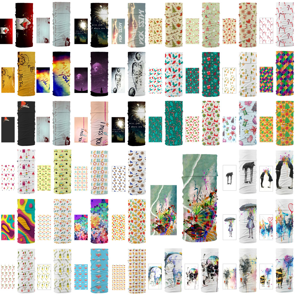 New Dustproof Scarf Personalized Multiple Ways Of Using Unisex Magic Tube Scarf Four Seasons Universal Men And Women Gifts