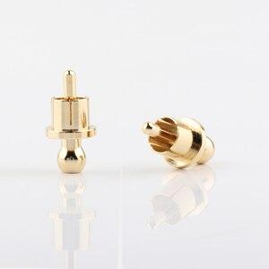 Image 3 - RCA Cap schutz staub proof Gold Überzogene Lärm Stopper Abschirmung Caps