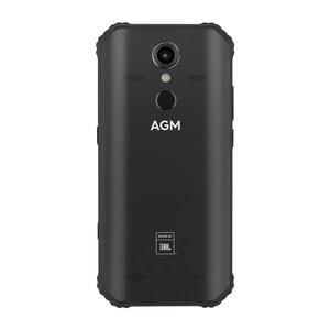 "Image 5 - AGM Смартфон Android 8,1 4G 64G Прочный телефон NFC кобрендинг 5,99 ""FHD 5400mAh IP68 отпечаток пальца type C Quad Box динамики A9"