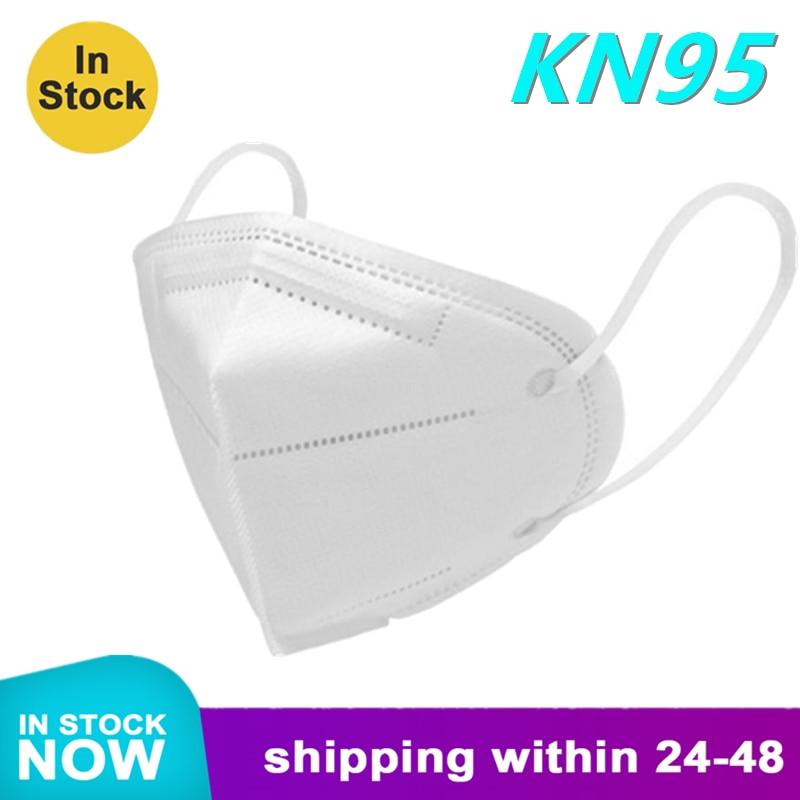 2020 Hot Sale N95 Masks KN95 Anti-Fog Dust-Proof Breathable Anti PM2.5 Disposable Masks Mascherine Equivalent To FFP2