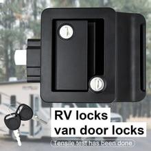 2022 R3 Mechanical Door Lock Camper Car Push Lock RV Caravan Boat Drawer Latch Button Locks for Furniture Hardware Accessories