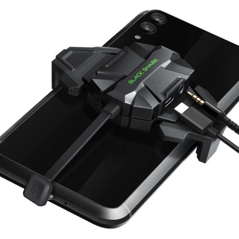 Xiaomi Brand Original Black Shark Digital Adapter Black Shark Audio/Quick Charge 2-in-1 Adapter Suitable for Xiaomi Black Shark