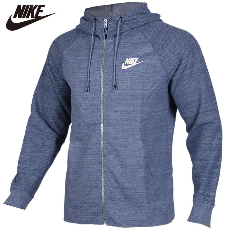 Original NIKE AS M NSW AV15 HOODIE FZ KNIT Mens Sportswear Soft Coats Limited Sale
