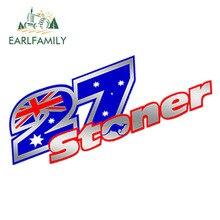 """EARLFAMILY 15 см x 5 см автомобильные наклейки автоколлагенты 27 Casey наклейка с надписью """"stoner"""" Argent Auto Moto GP Voiture Тюнинг автомобиля Стайлинг наклейка"""