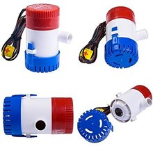 Fagoozon Electric Marine Bilge Pump 12V