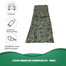 Army Hunting Camping Military Camouflage Net Outdoor Tactical Camo Netting Car Covers Tent Blinds Conceal Drop vilead 2m 5m blue camouflage netting camo netting for camping paintball game outdoor balcony tent party decoration car covers