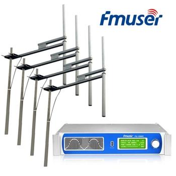 FMUSER FU-1000C 1U 1000W nadajnik FM + 4 * FU-DV2 antena + 30M 1 2 #8222 kabel tanie i dobre opinie NONE CN (pochodzenie) Frequency Modulation PLL Phase-locked loop 87 MHz ~ 108 MHz ± 75 Hz 50 KHz 50 Ω 0 -1000 W continuously adjustable
