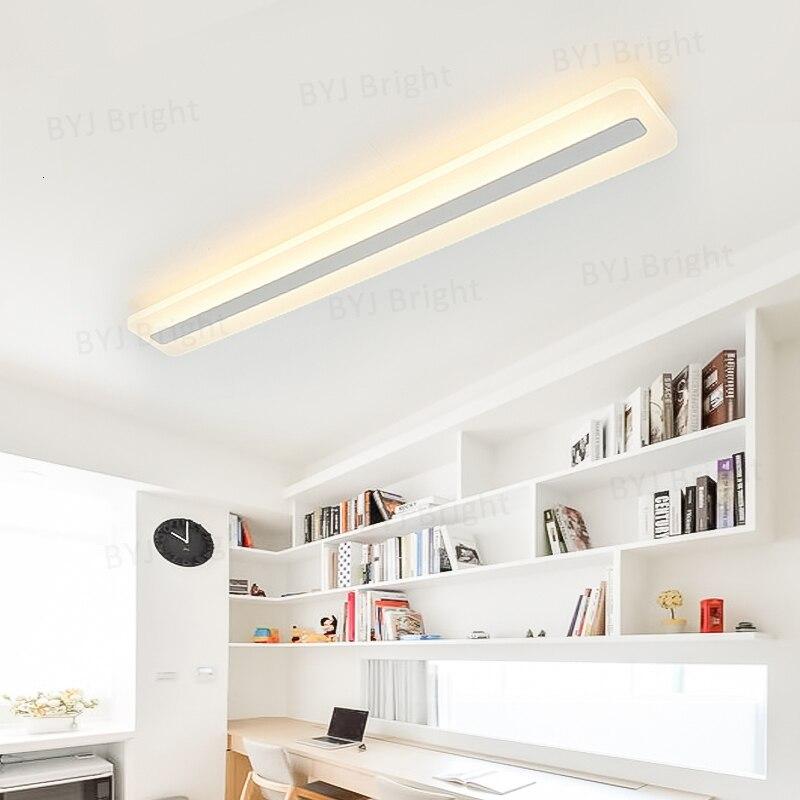 Moderno led luzes de teto para sala