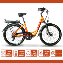 Mountain-Bike Motor Electric-Bicycle Lithium-Battery 500W 26inch 48V XF200 Powerful 14A